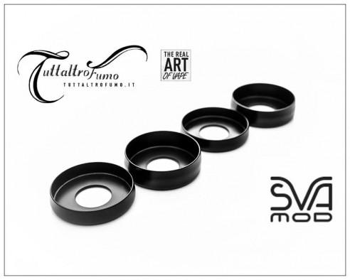 Sva Black Delrin aesthetic rings